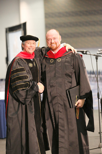 Tim is honored with the ICCM's Master's Degree!