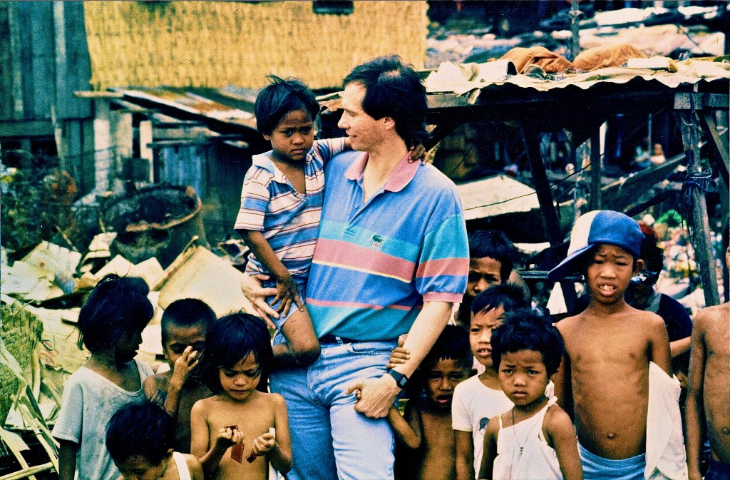 Kip McKean at Smokey Mountain outside of Manila in 1989!