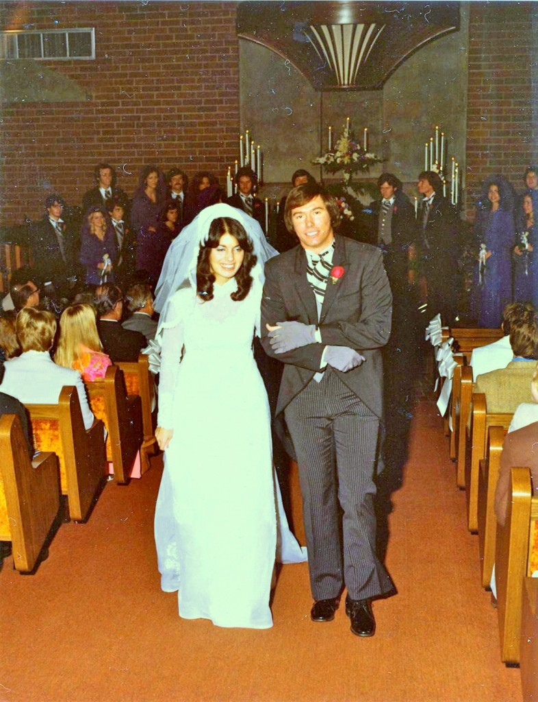 Kip & Elena are married on December 11, 1976!