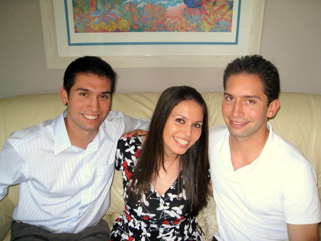 Eric, Olivia and Sean in 2008!