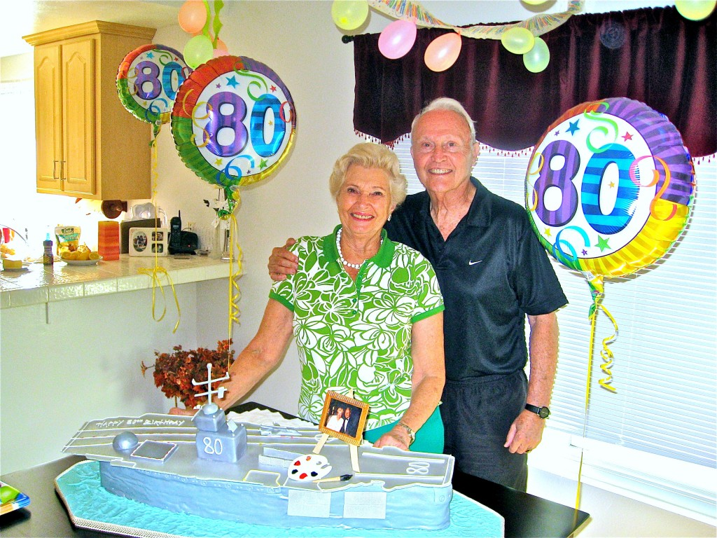 Both of Kip's parents – Tom & Kim – celebrate their 80th Birthdays in the summer of 2008!