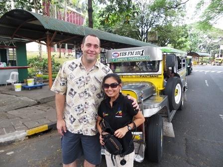 Kyle & Joan Bartholomew at Manila's UP Campus!PACIFIC RIM