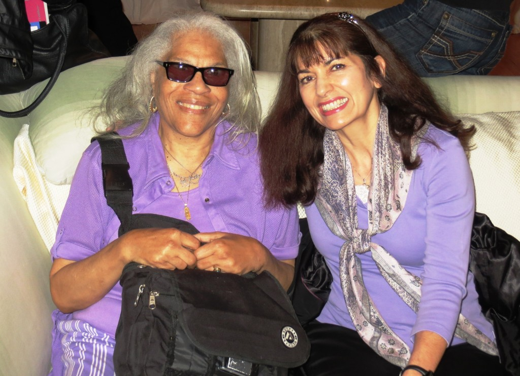 """Fellowshipping together in 2013, Wazirah, Cory Blackwell's mother, and Elena, whom Cory affectionately calls his """"spiritual mom."""""""