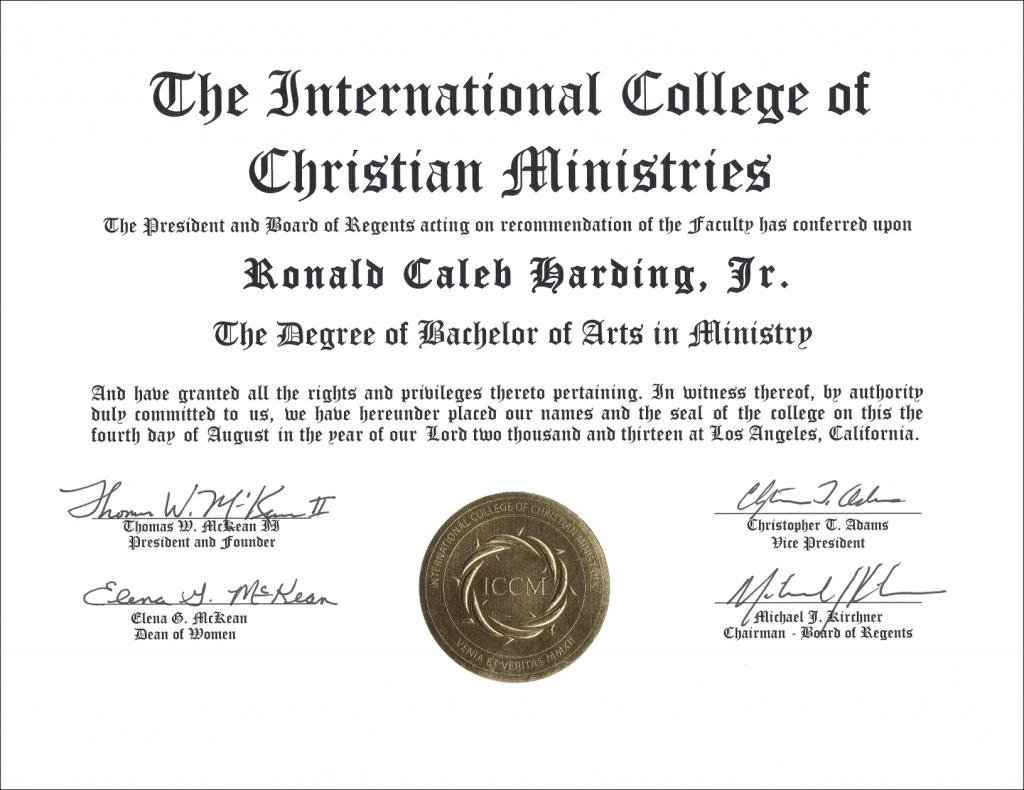 ICCM_Degree